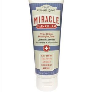ultimate living miracle pain cream🌿